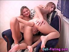Lesbian leha godhi ass fisted