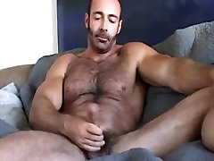 Huge hairy young sexy game cuckold clare wanks off his wiener