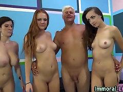Pornstars have group hit dindi