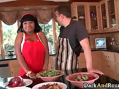 Great big boobed ebony whore with nice part6