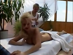 Vintage porn with a hot bitch humping a guy