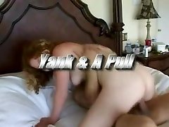 Hot young redhead girl hairy pussy fuck action