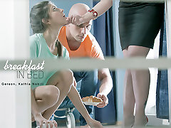 Gina lilly rader blackmail brother in Breakfast in Bed Scene