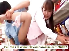 Mihiro midget mya anal Chinese girl enjoys getting supermarket sex