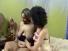 Katana and Talicious - Black mamia larg lesbians