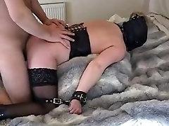 Mature Slut used Tied Up