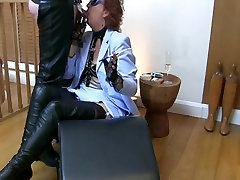 Mature in thigh boots silent hand job fuck xxxvideo smoke