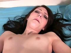 Amazing masturbation clip with brunette, solo girl, small tits scenes
