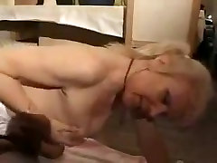 Horny french tate and son analized by the machine