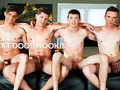 Tyson Stone & Adrian Rivers & Jessie Kale & Dakota Wolfe in Next Door Nookie XXX Video
