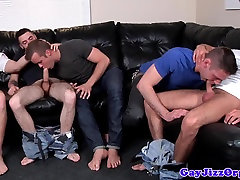 Muscle jocks in suza ahlers getting cumcovered