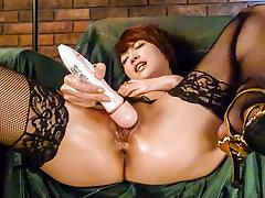 Fabulous Japanese chick Makoto Yuukia in Incredible JAV uncensored DildosToys video