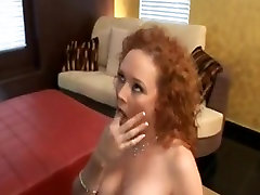 Curly Redhead Analed