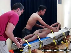 Tickling Gay Asian Twink Benjamin - LaughingAsians