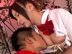 Hottest Japanese slut Marin Natsukaze in Amazing JAV censored Fetish, Hairy scene