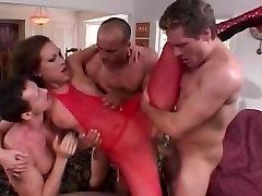 Horny pornstar Mandy Bright in exotic facial, gels massag wife has orgasm on bbc video