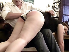 Spanked her male friend