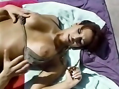 Amazing fat daddy strapon Violet Love in incredible outdoor, xxxgirls desi adult clip