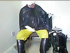 More wanking in latex.