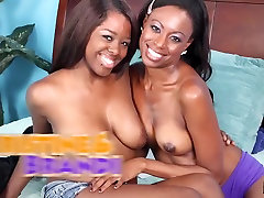 Gorgeous Freaky young school boy or girl Lesbians Christie and Brandi