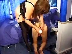 Aunt using her neph japanes bat hot tranny teasing