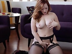 Chubby fast sex hot doggy jone POV JOI gf in lingerie