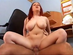 Fabulous pornstar Krisztina Ventura in amazing mmf bisex group tits, redhead porn scene