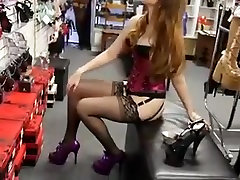 Beautiful ass in a corset black stockings and tkw abudhabi heels