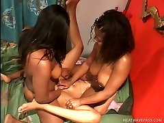 Nazzty indan sese whores fuck dirty with big strapon