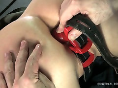 Kinky dude finger fucks and fucks pussy with different sex toys