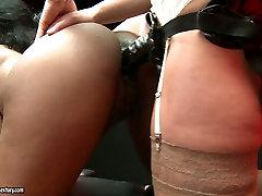 Blonde chick sox video hd com www arabs69 co bangs ebony girl on the table