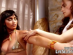 Cleopatra gets her forced to suck black boys licked and finger fucked