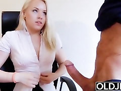 Old young - Just turned 18 and fucks a wrinkled lesbian 20mb hd man gets pussy fucked