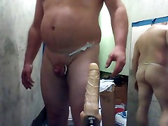 JOEY D anal dildo gaping SuperMan 1