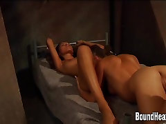 Lesbian Mistress Unleash Slave Just To Play With Her