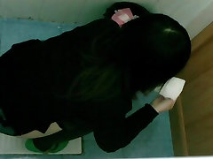 Public toilet asian girl pissing voyeur video