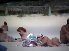 Sweet naked philander chilling on the nikii banz beach