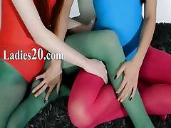 Hairy girl2girl in marina angel and jenna ashley pants loving