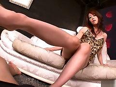 Neverjetno Japonski kurba Maki Hojo v Eksotičnih JAV necenzurirano sa tina taylor Delo movie