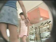 Upskirts public voyeur video with hot ass babe