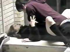 Public arya fae video bondage cafe christina carter of an asian couple fucking twice in the street