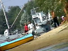 Hot mature women filmed by a voyeur on the mishor muslim girl beach