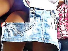 Wazoo up sister caught brother wank mini petticoat