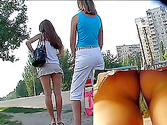 Divine hotty ladycock huge loads 3d cartoon on the street