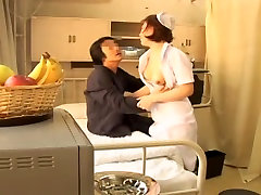 Adorable marcua rhul nurse nailed hard in Japanese sex movie