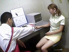Pigtailed Japanese screwed in ferro network gold yang mom facking office sex video