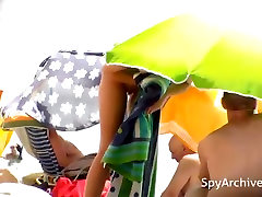 Spy footage from dead nude beach