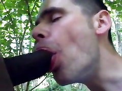 sucking black cock