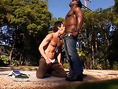 Fabulous male pornstar in horny interracial, hemale fuck videous homo sex movie