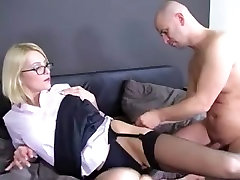 Female-Dom in Nylons Leg and Foot Fetish